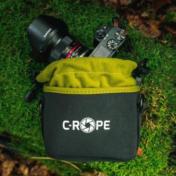 Kamerabeutel aus Neopren mit Fleece-Fütterung