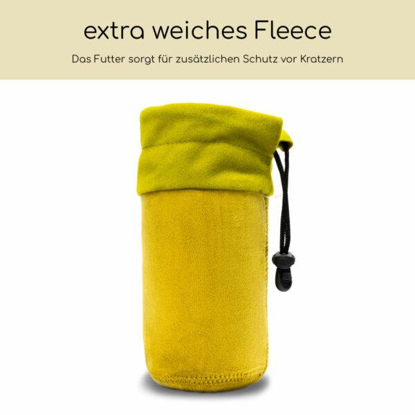 Neopren Objektivbeutel mit Fleece-Fütterung